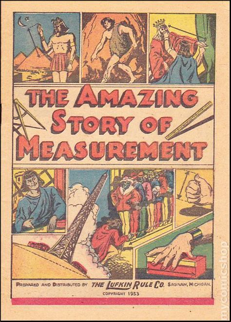 measurement picture books amazing story of measurement 1949 comic books