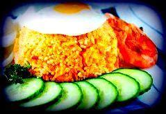 resep nasi goreng bumbu ebi pedas resep masakan indonesia