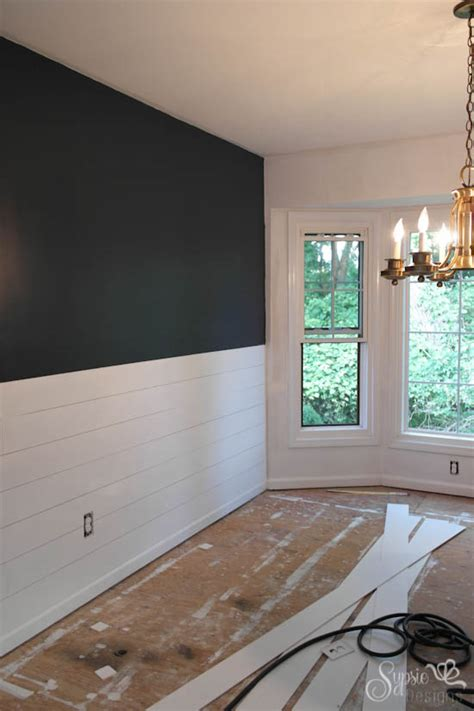 Easy Shiplap Diy Shiplap Walls Sypsie Designs