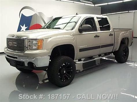 buy car manuals 2009 gmc sierra 1500 navigation system sell used 2009 gmc sierra crew lifted leather nav 20 s tow 35k mi texas direct auto in stafford