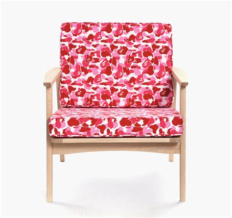 bape couch fabrick x a bathing ape x karimoku furniture collection