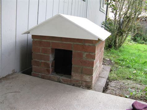 brick dog house a posh dog house the henries