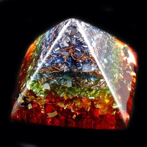 chakra orgone energy generator pyramid tibetan and