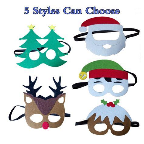 christmas mask theme 1pc theme masks santa claus tree elk joker masks masquerade costumes
