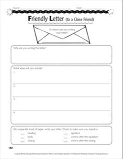 Business Letter Format Graphic Organizer freebie friendly letter graphic organizer to plan a