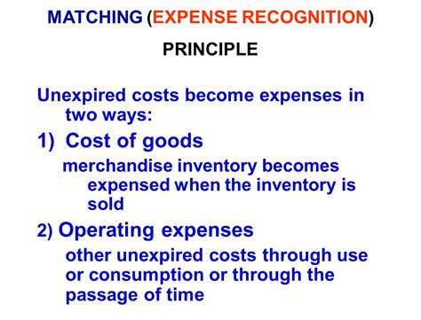 pattern of cost of goods sold accounting principles ppt video online download