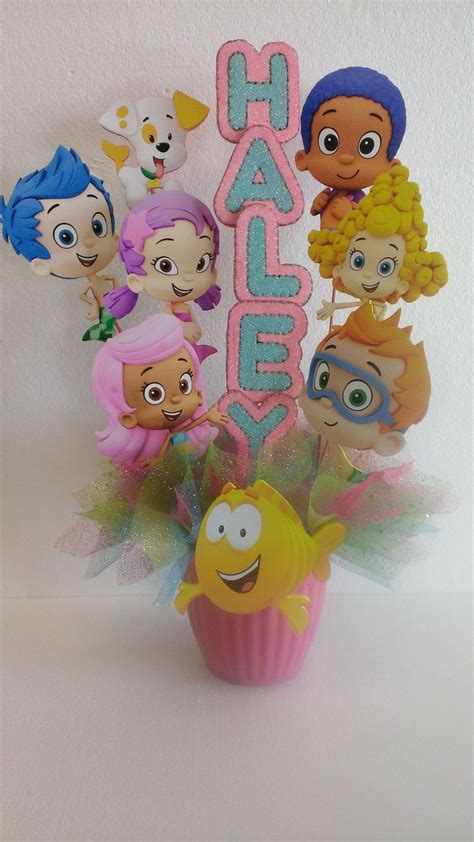 guppies centerpieces 48 best birthday baby shower centerpieces and props images on