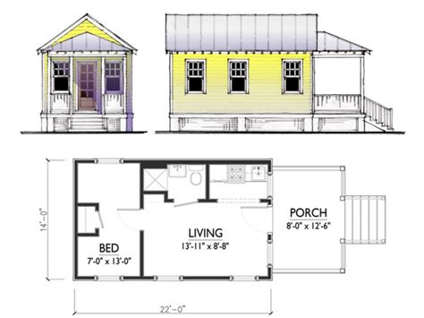 pictures of house plans floor plans for a small guest house tiny guest house floor