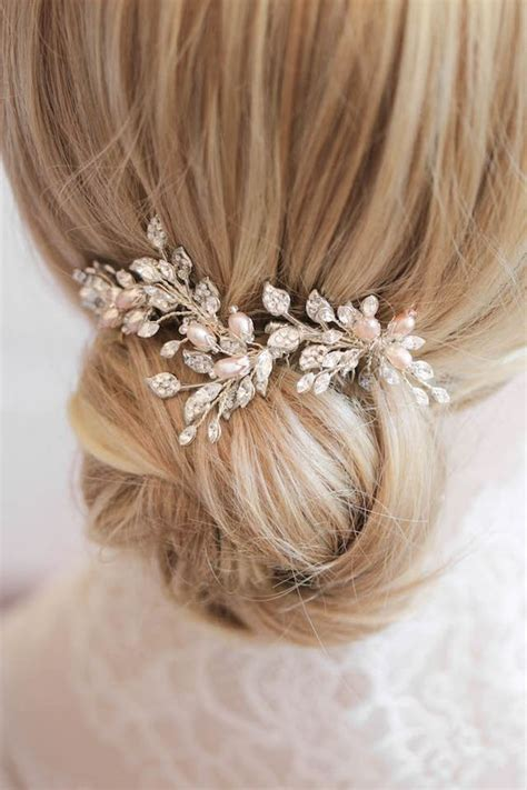 Wedding Hair Accessories Like by Pearls Hair Accessories Designs For Bridal Ideas