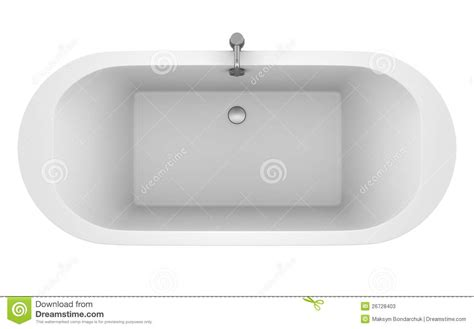 bathtub top view top view of modern bathtub isolated on white stock photos