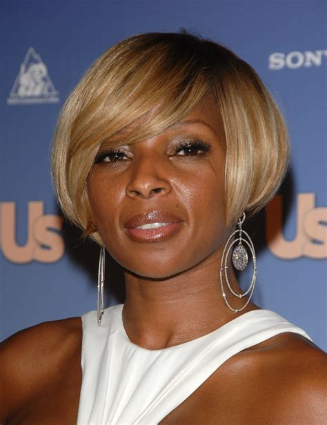 mary j natural hair mary j blige hairstyle taaz hairstyles