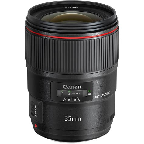 canon ef 35mm f 1 4l ii usm lens 9523b002 b h photo