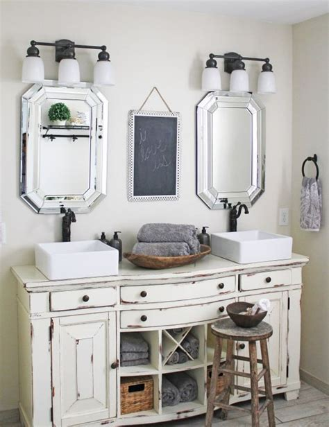 bad vintage 29 vintage and shabby chic vanities for your bathroom