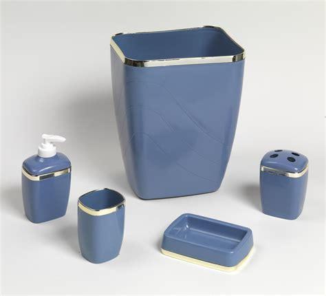Plastic Bathroom Accessories Carnation Home Fashions Inc 5 Plastic Bath Accessory Sets