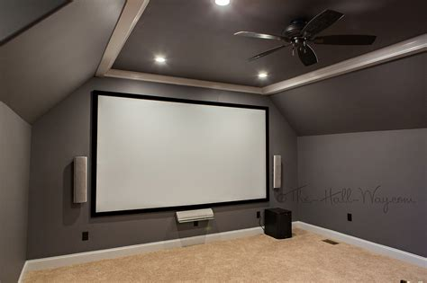 paint colors for home theater home theater part 3 the hall way