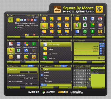 rasta themes for nokia e71 square theme free download for symbian s60 3rd and 5th