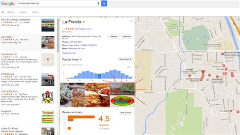 Maps View Search Address Switch To View In Maps Search Results