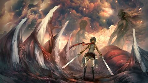 attack  titan logo wallpaper wallpapersafari