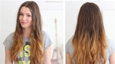 how to ombre your hair at home diy loreal ombre
