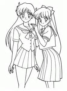 anime coloring book coloring pages anime coloring pages free and printable