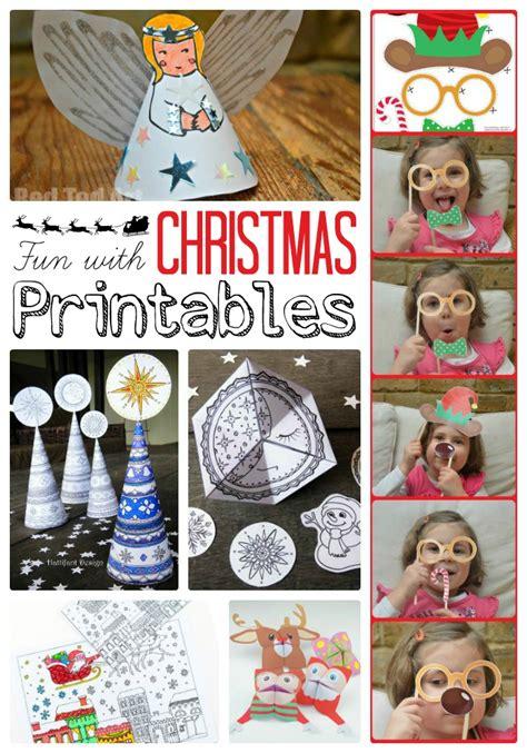 Christmas Crafts For Classroom - christmas printables red ted art s blog