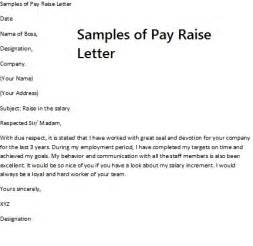 pay rise request letter requesting a pay raise requires