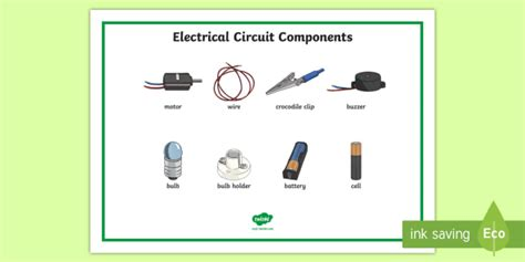 circuits year 4 year 4 circuit components word mat science electricity ks2