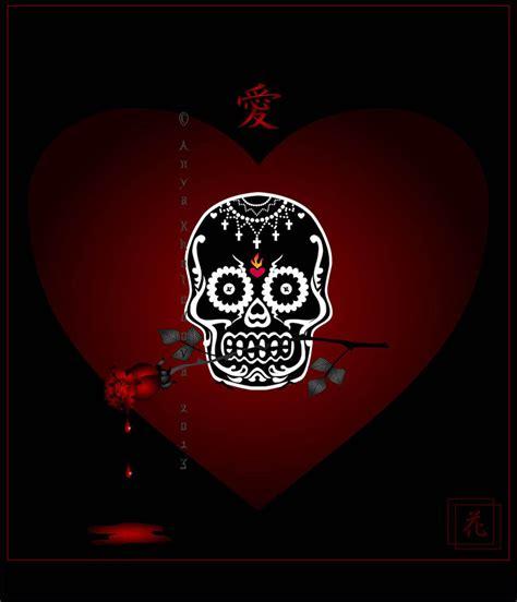 skull valentines the birthday skull by broom rider on deviantart