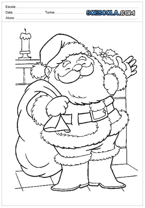 desenhos-de-papai-noel-para-colorir-natal-dos-sonhos — SÓ