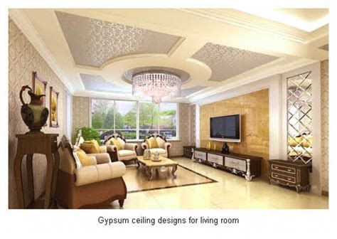 Gypsum Ceiling Design For Living Room Gypsum Ceiling Designs For Living Room Peenmedia