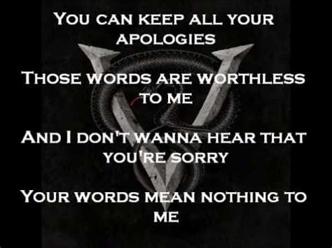 bullet for my lyrics venom worthless letra bullet for my lyrics venom