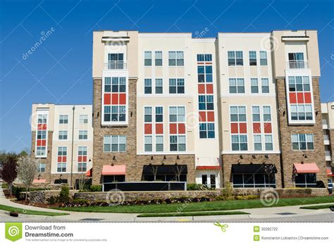 Apartment Time Modern Apartment Building Stock Photography Image 30282722