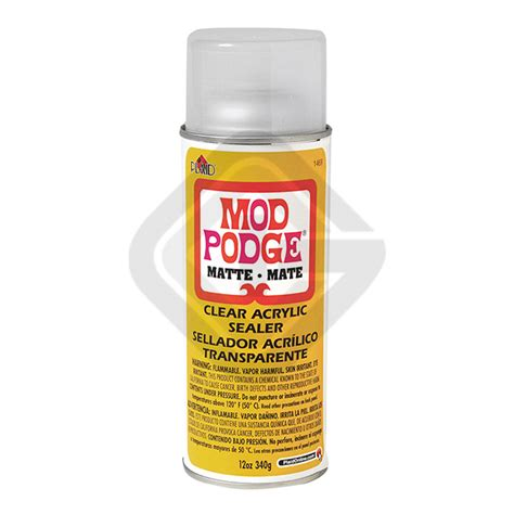 Decoupage Waterproof Sealer - mod podge acrylic sealer graphicint