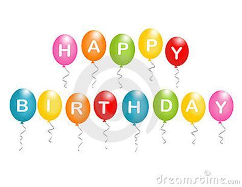 Balon Happy Birthday Car happy birthday balloons stock photo image 4161810