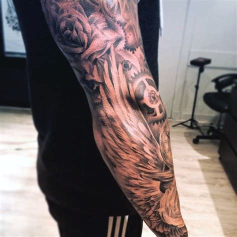 wing arm tattoo top 100 best wing tattoos for designs that elevate