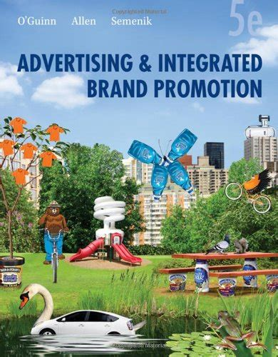 advertising and promotion books advertising and integrated brand promotion isbn 13 978 0