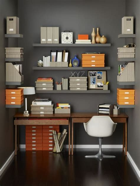 How To Organize Your Home Office | how to organize your home office 32 smart ideas digsdigs