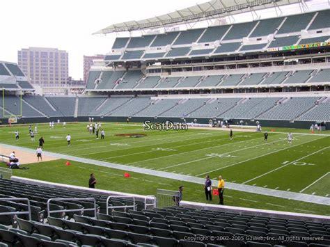 metlife stadium section 104 paul brown stadium section 104 rateyourseats com