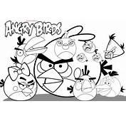126 Dessins De Coloriage Angry Birds &224 Imprimer Sur