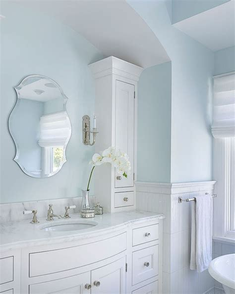 blue bathroom walls best 20 light blue bathrooms ideas on pinterest