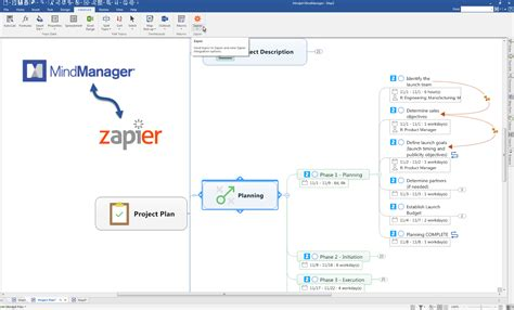 mindmanager templates plan a website with mindmanager website map templatesvia