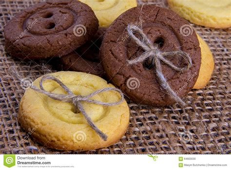 Cookies Handmade - delicious cookies handmade stock photo image