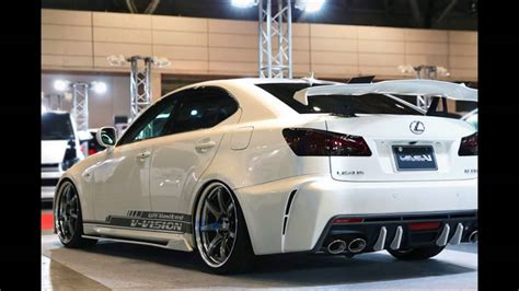 tuned lexus is 250 exterior tuning for lexus 2006 2011 style is250 is250c