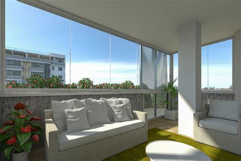 chiudere il terrazzo chiudere terrazzo a vetri con prodotti designer e