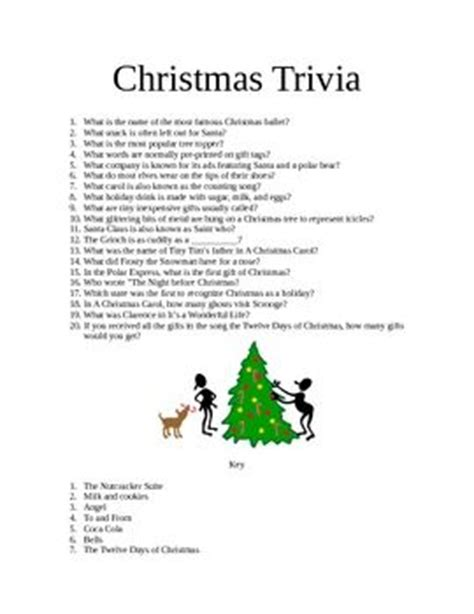 christmas trivia for kids all ideas about christmas and