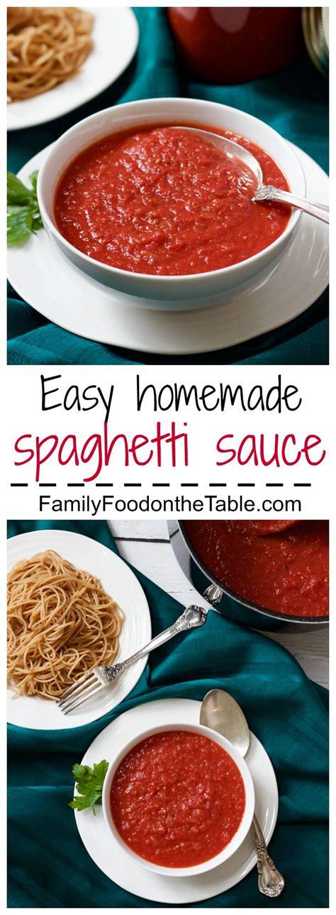 pasta sauce ideas 25 best ideas about homemade spaghetti sauce on pinterest