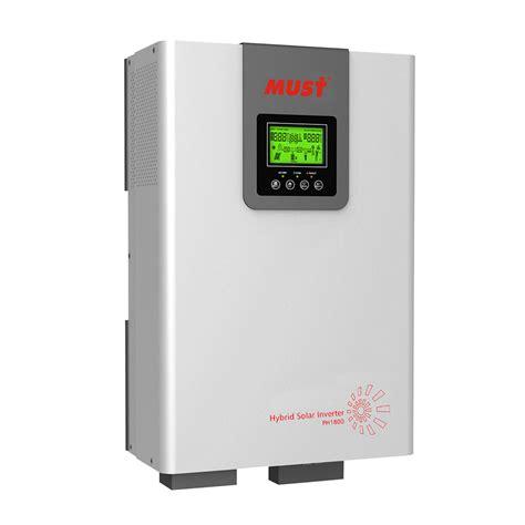 home solar inverter solar inverter ph1800 plus series high frequency on grid hybrid solar inverter 1 5 5kw
