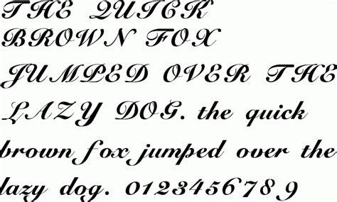 tattoo fonts cursive elegant generator free fonts cursive
