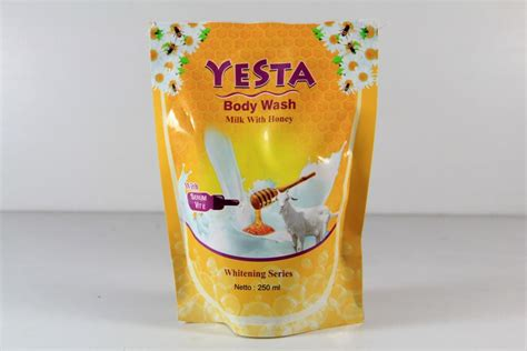 yesta wash milk with honey nitaskincare