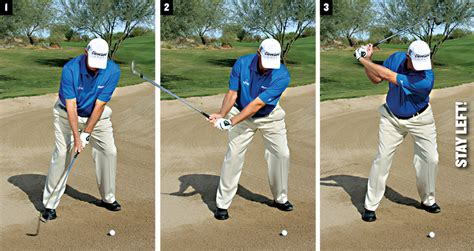 simple golf swing for seniors bunker control golf tips magazine